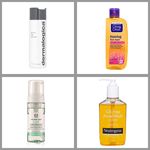 7 Best Face Wash for Oily Skin and Large Pores - Buying