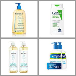 Best body wash for dry sensitive skin