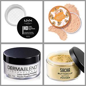 best drugstore setting powder for dark skin